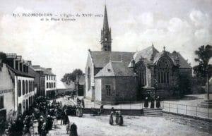 Centre bourg Plomodiern
